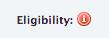 ineligibility