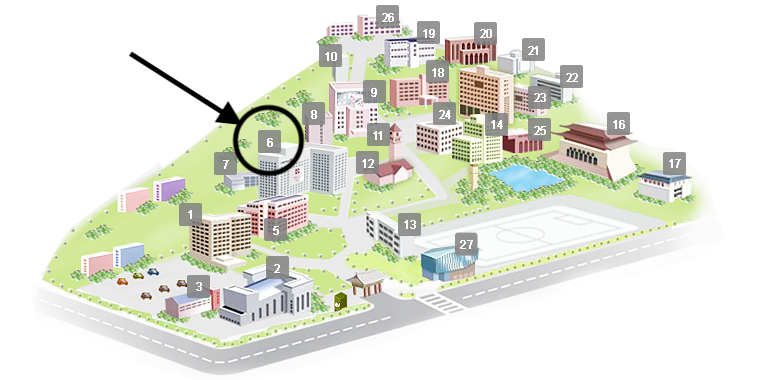 Sejong Univ Campus Map